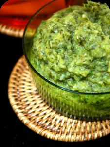 guacamole courgette