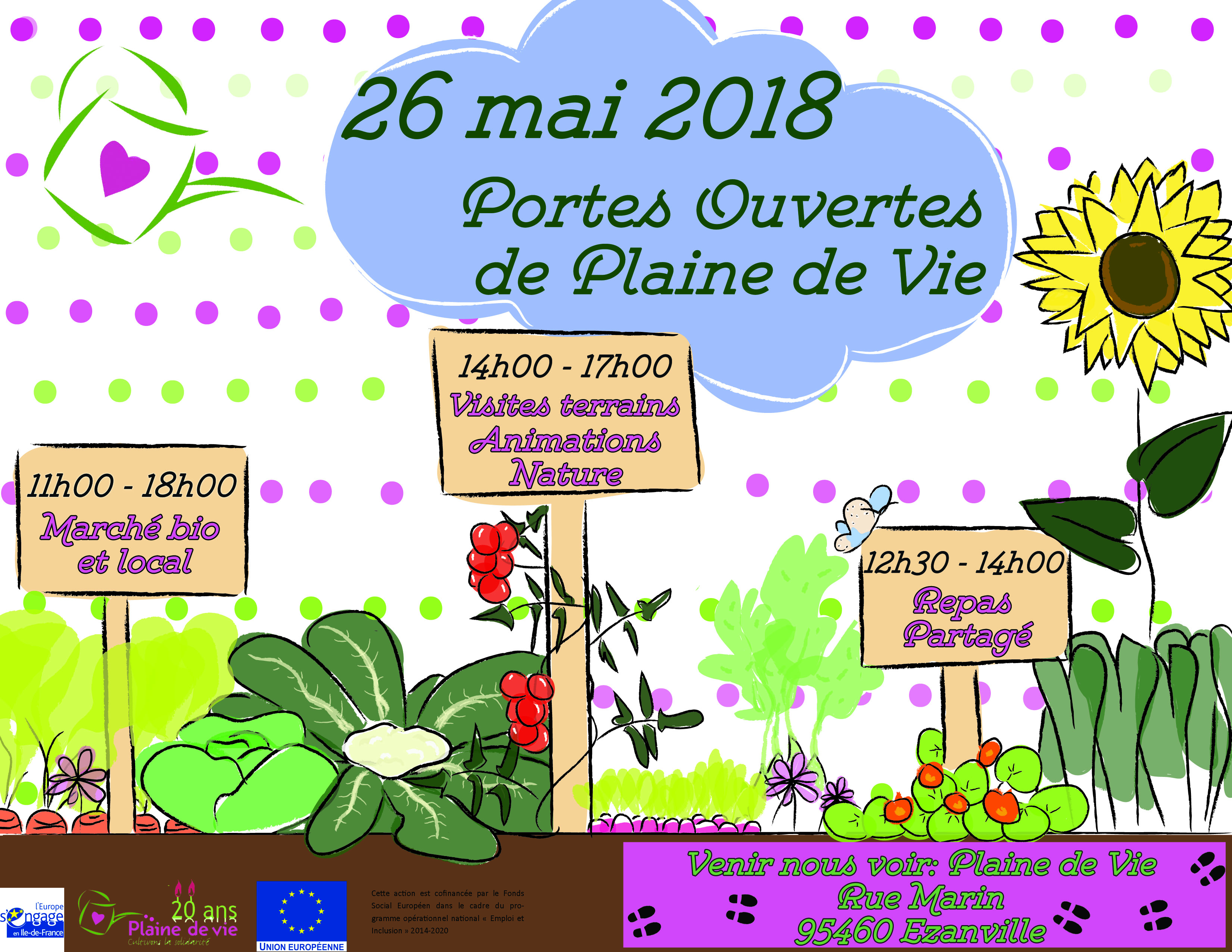 Portes Ouvertes Samedi 26 mai 2018