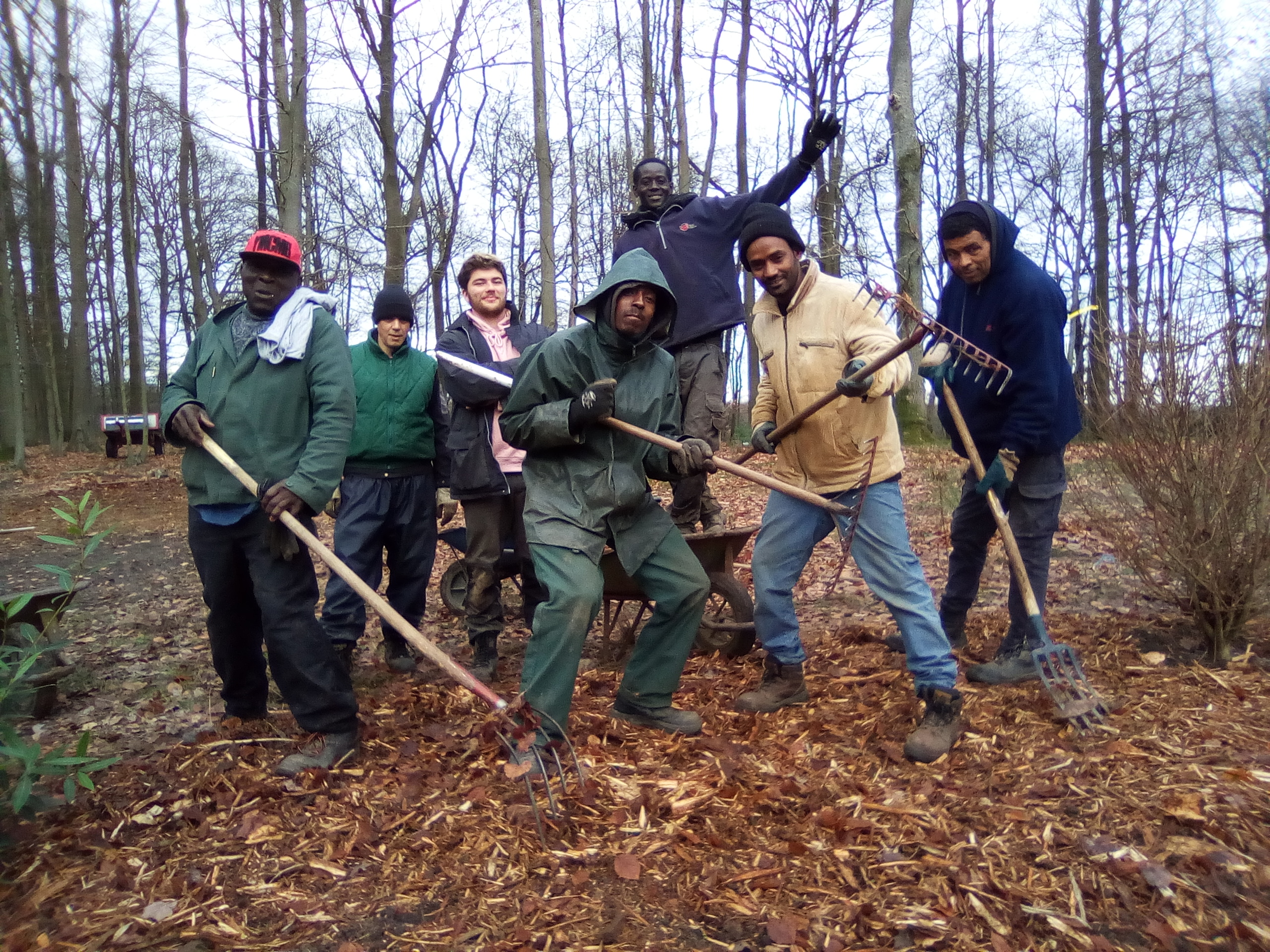 L'équipe Espaces Verts