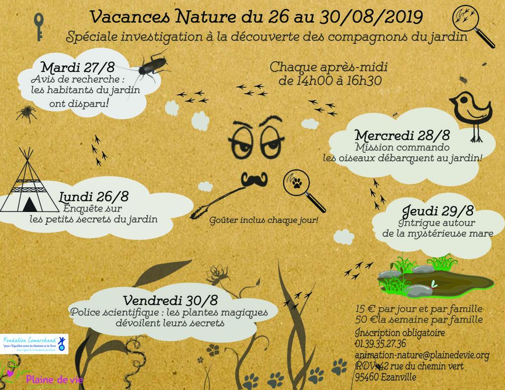 Vacances nature aout19